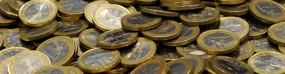 Pièces de 1€ (CC kikki99)