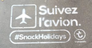 Chalk-tagging for Transavia