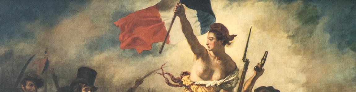 Eugène Delacroix - Freedom guiding the people