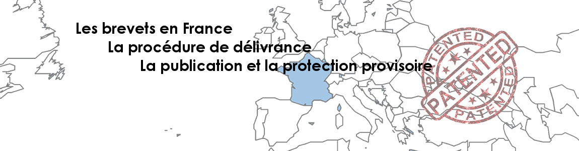 Publication and provisional protection