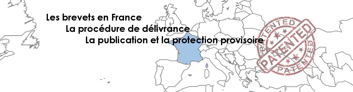 Publication et protection provisoire